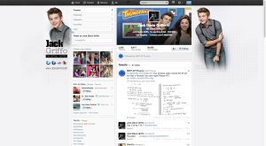Jack Griffo retweets the solution
